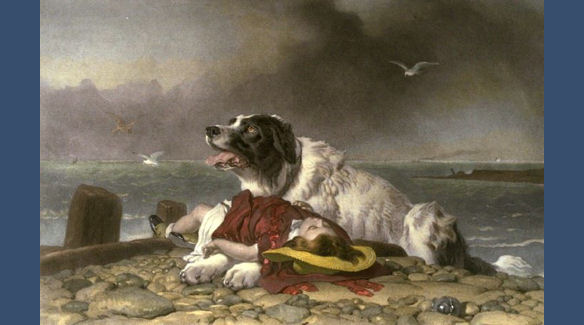 Saved by Sir Edwin Landseer
